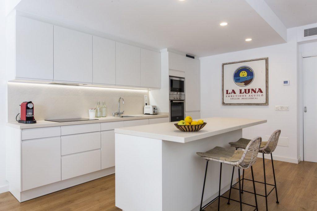 La cocina integrada en el hogar